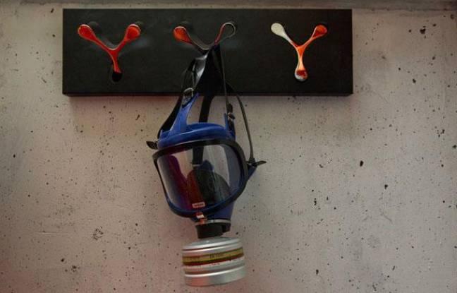 Un masque à gaz