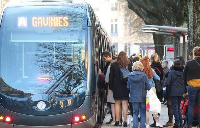 Grève du 24janvier à Bordeaux: Blocage de trois dépôts de tram et de bus ce vendredi matin