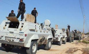 """L'armée égyptienne a qualifié mercredi de """"succès total"""" une opération terrestre et aérienne exceptionnelle contre des """"terroristes"""" dans le Sinaï, trois jours après la mort de 16 gardes-frontières dans une attaque attribuée à des islamistes extrémistes."""
