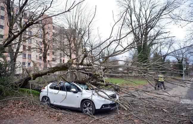 Météo France : Seize départements en vigilance orange vents violents du fait de la tempête Jorge