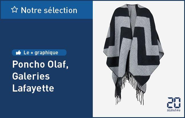 Poncho Olaf, de Galeries Lafayette