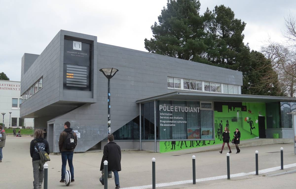 Nantes, le 3 mars 2016, le pôle étudiant sur le campus du Tertre. – Frédéric Brenon