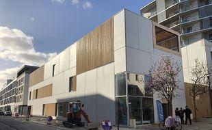 Le nouveau complexe pour les sans-abri à Nantes est situé rue Pierre-Landais.