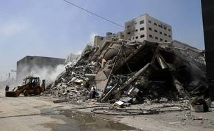 L'immeuble détruit à Gaza abritait notamment les locaux d'AP.