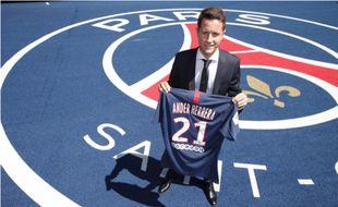 L'Espagnol Ander Herrera a signé pour 5 ans au PSG, le 4 juillet 2019.