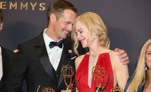 Nicole Kidman a embrassé Alexander Skarsgard aux Emmy Awards