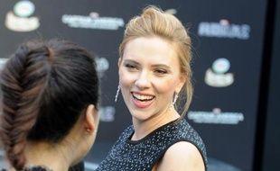 L'actrice américaine Scarlett Johansson le 24 mars 2014 à Pékin