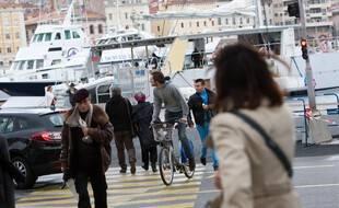 Sur le Vieux-Port à Marseille (photo d'archives)