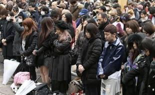 Une minute de silence observée cinq ans après le tsunami.