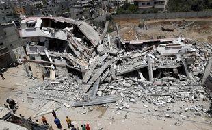 Les frappes israéliennes ont provoqué la mort de 56 personnes à Gaza dont des leaders du Hamas.