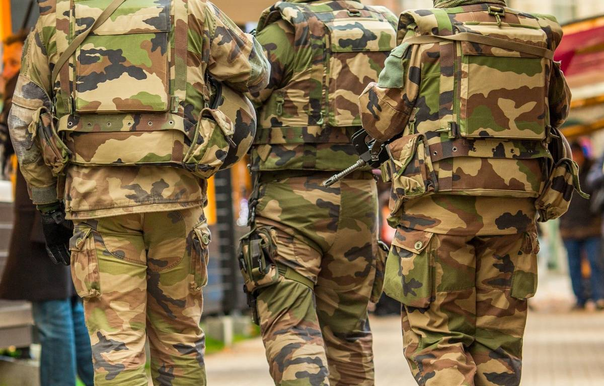 Un homme interpellé pour l'agression au cutter d'un militaire de l'opération Sentinelle en gare de Strasbourg. – KONRAD K./SIPA