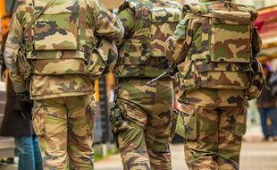 Des militaires de l'opération Sentinelle