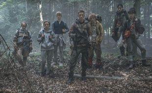 Jessica Dinnage, Alba August, Lucas Lynggard Tønnesen, Mikkel Boe Følsgaard, Sonny Lindberg, Lukas Løkken, Angela Bundalovic dans la série «The Rain».