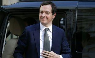 Le ministre des Finances britannique George Osborne à Londres le 28 juin 2016