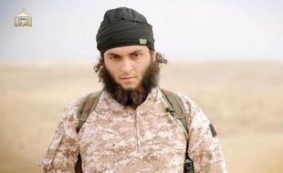Image tirée d'une vidéo de Daesh diffusée le 16 novembre 2014 par al-Furqan Media.