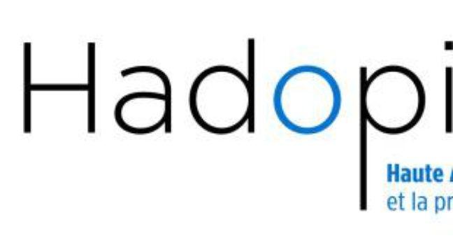 Le nouveau logo d'Hadopi, dévoilé le 3 mai 2010 – DR