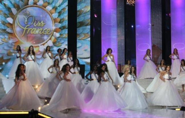Concours de Miss France à Caen, le 4 décembre 2010