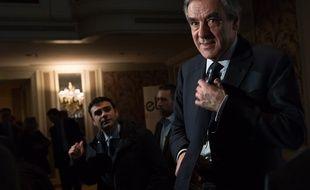 François Fillon le 30 janvier 2017, lors d'un débat organisé par EBG (Electronic Business Group).