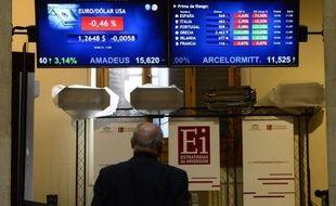 L'Espagne était de nouveau lundi au coeur de la tempête dans la zone euro, malgré la victoire de la droite pro européenne aux élections grecques qui n'a pas empêché les marchés de repartir à l'attaque, les taux d'emprunt espagnols atteignant des niveaux alarmants.