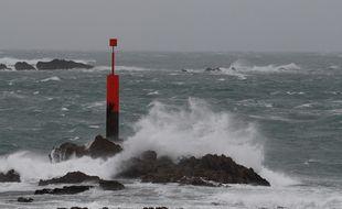 Le vent va souffler fort sur la Bretagne.