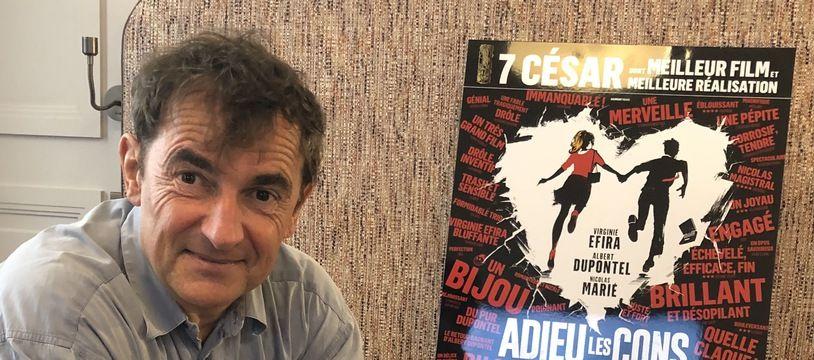 Albert Dupontel à Paris, le 10 mai 2021
