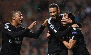 Neymar, Mbappé, Cavani ont tous marqué à Glasgow