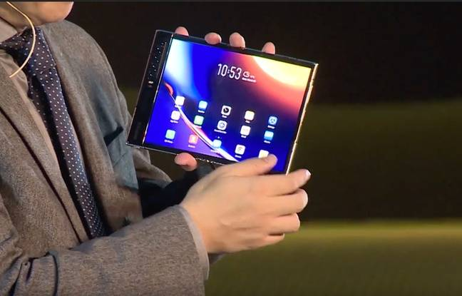 Royole dévoile le FlexPai 2, son second smartphone pliable