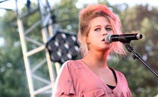 La chanteuse Selah Sue le 11 septembre 2011 à Paris.