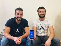Romain Aymard, le directeur de la création de Magnitude Labs et Yannick Rodriguez, son directeur technique.