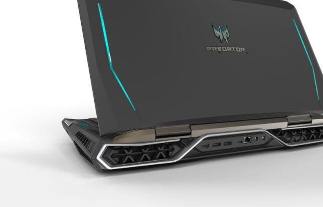 Avec son écran de 21 pouces, l'Acer Predator vise les joueurs invétérés et fortunés.
