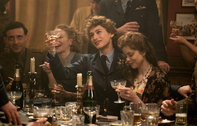 Charlotte Hope et Lizzy Kaplan dans Alliés de Robert Zemeckis