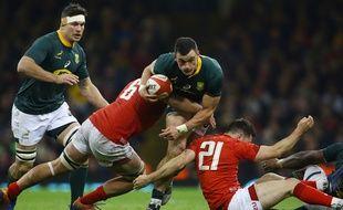 Gallois et Sudafs se disputent une place en finale du Mondial de rugby.