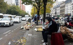 Ce vendredi matin, avenue de Flandres (19e arrondissement)