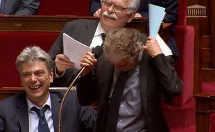 Grosse poilade à l'Assemblée après un lapsus du député communiste Hubert Wulfranc.