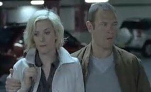 Capture d'écran d'un spot de 2009 contre les violences faites aux femmes, principalement les violences verbales et psychologiques.