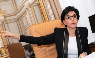 Rachida Dati, Maire du 7eme arrondissement de Paris, candidate a l'election municipale de Paris dans son bureau