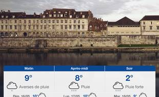 Météo Besançon: Prévisions du samedi 15 mai 2021
