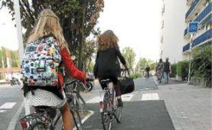 La véloroute nord-sud reliera Rezé au campus universitaire.