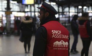 Un assistant SNCF
