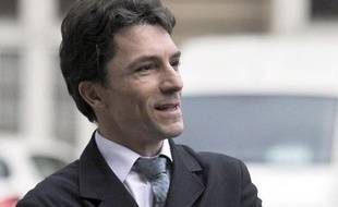 Le juge antiterroriste Marc Trévidic, au tribunal de Paris le 31 janvier 2011