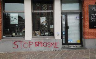 La Fromagerie Madame, à Wambrechies a été victime de vandalisme.