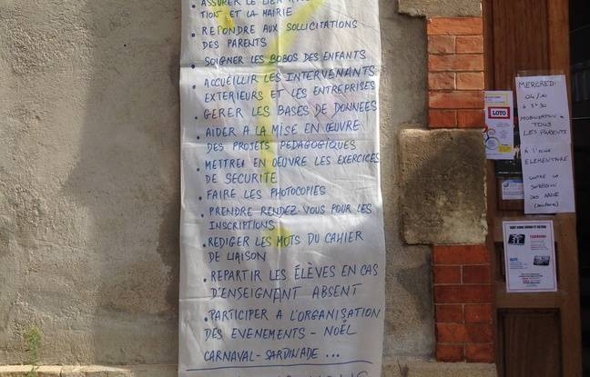 La liste des tâches de la secrétaire de l'école Estaque Gare