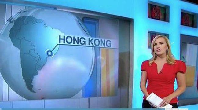 VIDÉO. Pour CNN, Hong Kong se trouve en Amérique du Sud