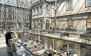 Le passage de l'Hôtel-Dieu sera dédié à la cuisine (illustration).
