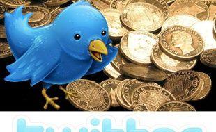 Une des mascottes du réseau social Twitter