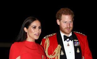 Le prince Harry et Meghan Markle à Londres, le 7 mars 2020.