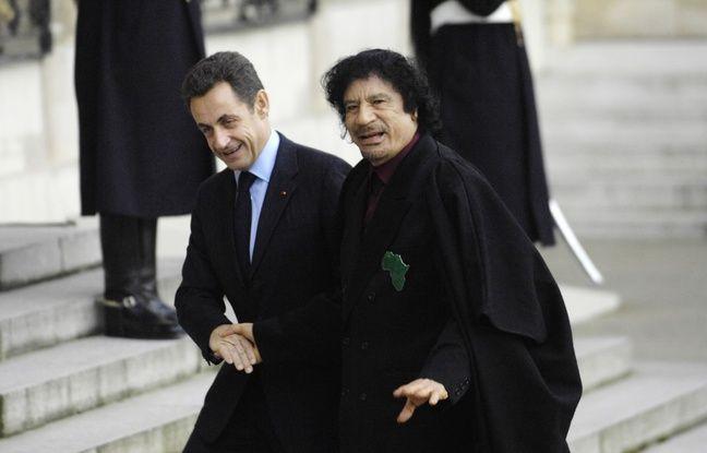 Un livre expose les relations entre Sarkozy et la Libye de Kadhafi