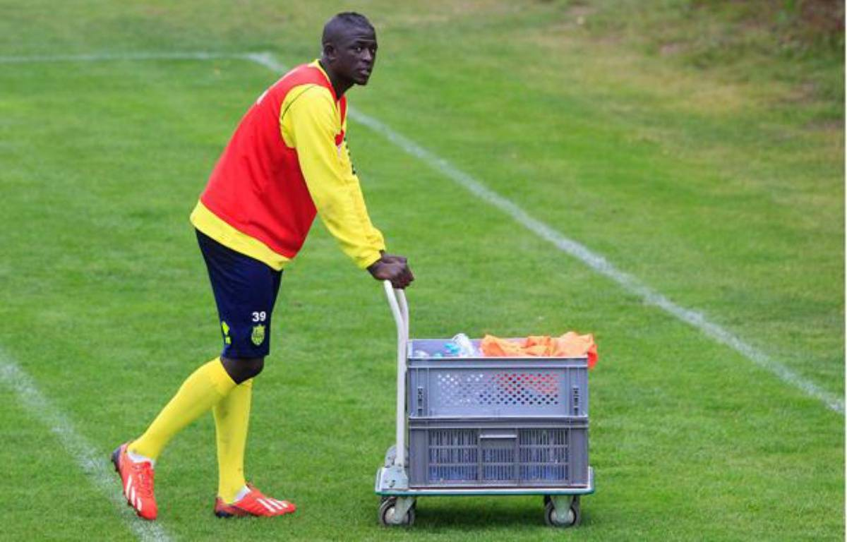 Le joueur duFC Nantes Abdoulaye Touré à l'entraînement, le 17 septembre 2013. – FABRICE ELSNER/20 MINUTES