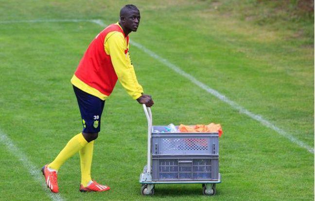 Le joueur duFC Nantes Abdoulaye Touré à l'entraînement, le 17 septembre 2013.