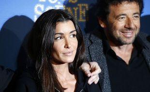 Jenifer Bartoli et Patrick Bruel à Paris le 14 janvier 2017.